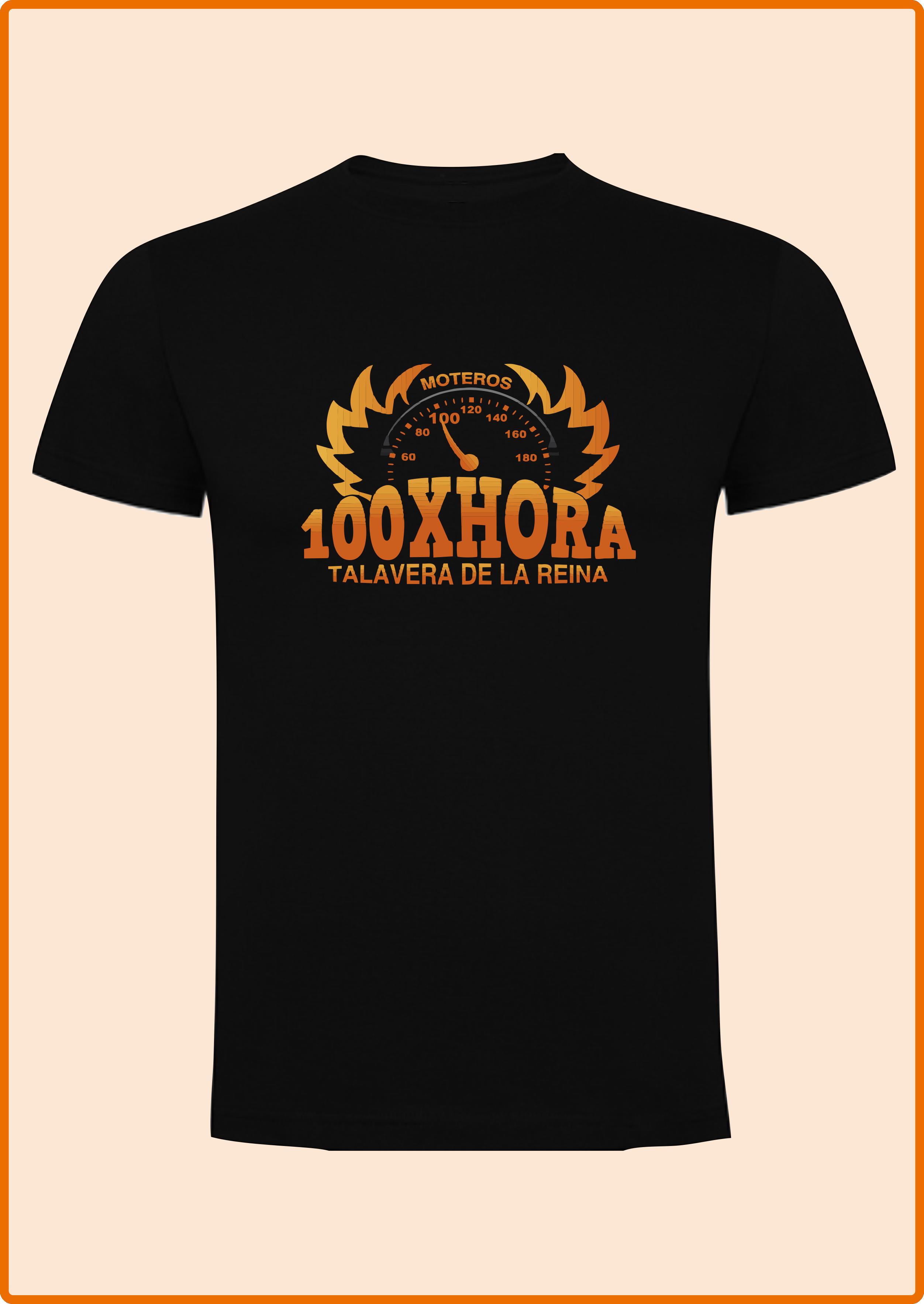 Camiseta Negra M C - Estampación de camisetas, sudaderas, equipaciones deportivas